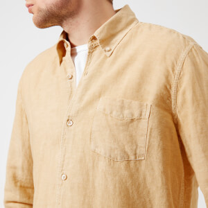 Our Legacy Men's 1950's Button Down Shirt - Fade Yellow