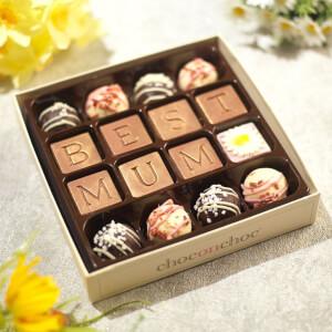 Choc on Choc Best Mum Chocolate Truffle Box