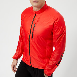 adidas Terrex Men's Agravic Alpha Shield Jacket - Hi Res Red