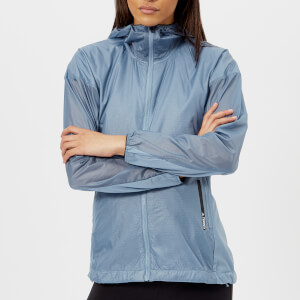 Adidas Terrex Women's Agravic Alpha Hooded Shield Jacket - Raw Grey