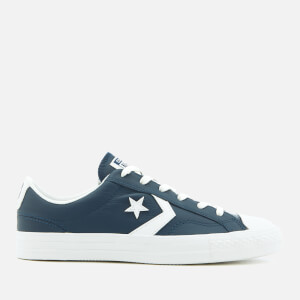 Converse Men's Star Player Ox Trainers - Navy/White