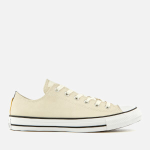 Converse Men's Chuck Taylor All Star Ox Trainers - Egret/Black/White