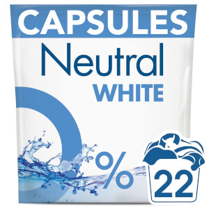 Neutral White Washing Capsules - 22 Wash 583g