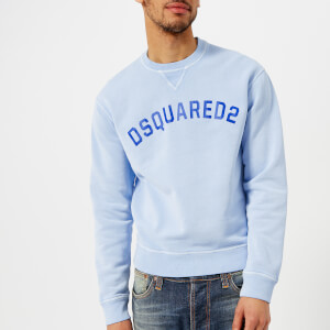 Dsquared2 Men's Dsquared2 Logo Sweatshirt - Light Blue