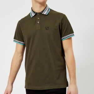 Versace Jeans Men's Piping Detail Polo Shirt - Giungla