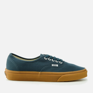 Vans Men's Authentic Trainers - Reflecting Pond/Gum