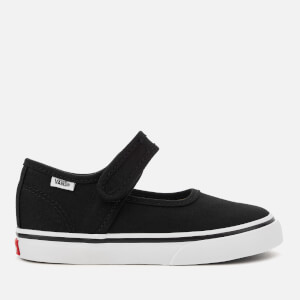 Vans Toddlers' Mary Jane Flats - Black/True White