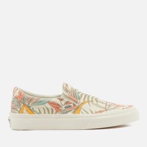 Vans Women's California Floral Classic Slip-On Trainers - Marshmallow