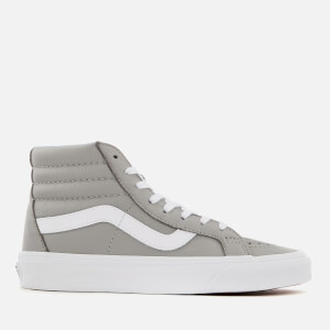 Vans Women's Leather Sk8 Hi-Top Trainers - Oxford/Drizzle