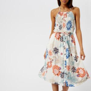 MINKPINK Women's Zion Smocked Halter Dress - Multi