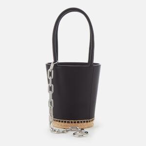 Alexander Wang Women's Roxy Mini Bucket Bag with Espadrille Bottom - Black