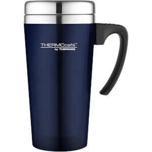 Thermos ThermoCafe Translucent Travel Mug - Blue 420ml
