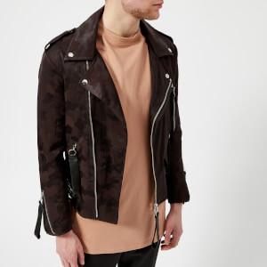 Matthew Miller Men's Tyler Biker Jacket - Camo
