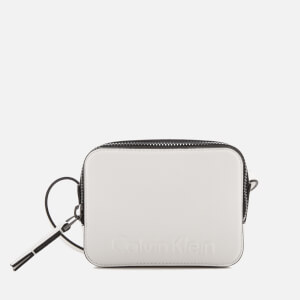 Calvin Klein Women's Edge Small Cross Body Bag - White