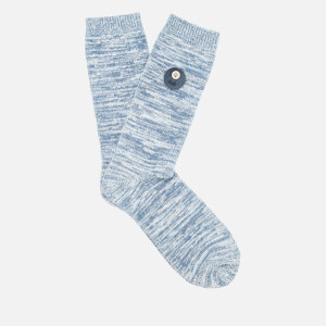 Folk Men's Melange Socks - Denim Melange