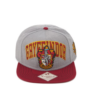 Harry Potter Gryffindor Snapback Cap - Grey