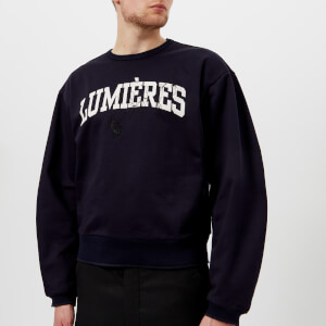 OAMC Men's Lumières Crew Neck Sweatshirt - Midnight Blue