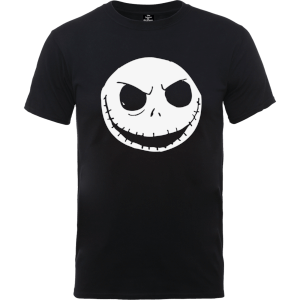 The Nightmare Before Christmas Jack Skellington Schwarz T-Shirt
