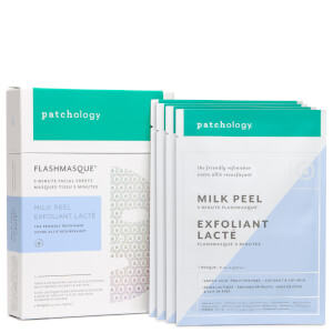 Patchology FlashMasque Milk Peel - 4 Pack (Worth $32)