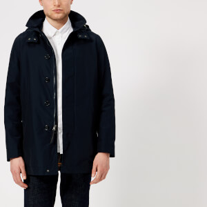 Woolrich Men's Brady Coat - Melton Blue