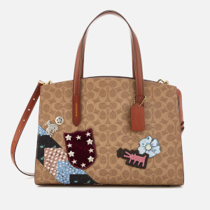 Coach 1941 Women's Coach X Keith Haring Charlie Carryall Bag - Rust