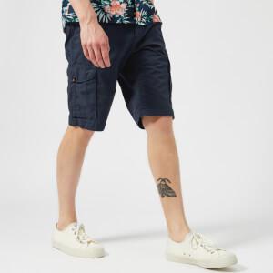 Tommy Hilfiger Men's Light Twill Cargo Shorts - Navy Blazer