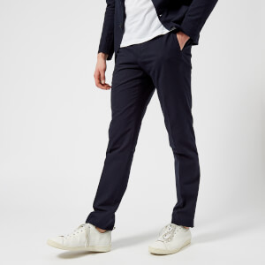 Officine Générale Men's Paul Seersucker Trousers - Navy
