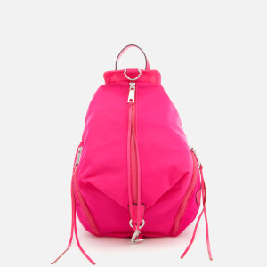 Rebecca Minkoff Women's Julian Nylon Backpack - Magenta