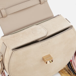 SALAR Women's Mimi Elvis Fringe Bag - Taupe: Image 5