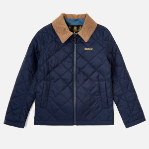 Barbour Boys' Helm Jacket - Navy