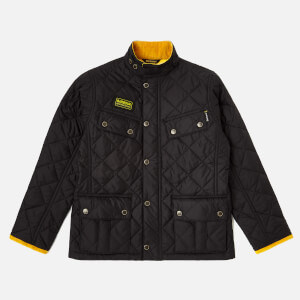 Barbour Boy's International Quilted Ariel Jacket - Black