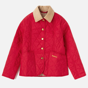 Barbour Girl's Summer Liddesdale Jacket - Raspberry Ripple/Mist