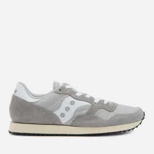 Saucony Men's DXN Vintage Trainers - Grey/White