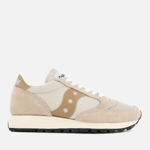 Saucony Men's Jazz Original Vintage Trainers - Cement/Tan