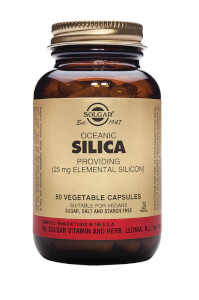 Solgar® Oceanic Silica 25mg - 50 Vegicaps
