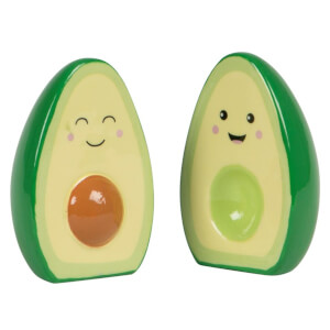 Sass & Belle Happy Avocado Salt and Pepper Set
