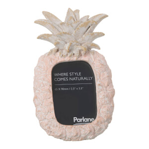 Parlane Pineapple Photo Frame - Light Pink (17 x 10cm)
