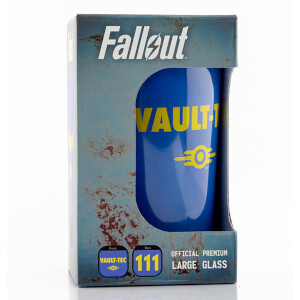 Fallout Vault 111 Coloured Large Glasses 16oz