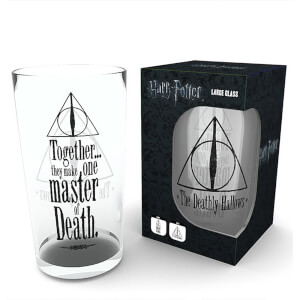 Harry Potter Deathly Hallows Large Glasses 16oz
