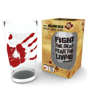 The Walking Dead Fight The Dead Large Glasses 16oz