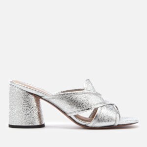 Marc Jacobs Women's Aurora Mule Sandals - Silver