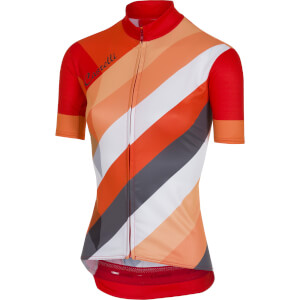 Castelli Women's Prisma Jersey - Multicolour Red