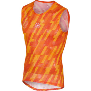 Castelli Pro Mesh Sleeveless Baselayer - Orange