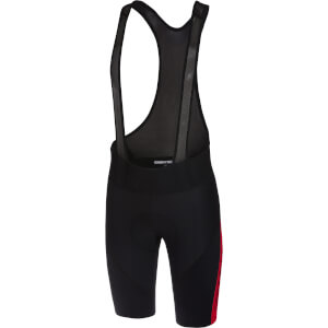 Castelli Velocissimo IV Bib Shorts - Black/Red