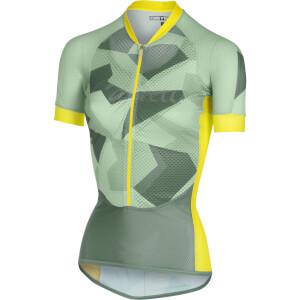 Castelli Women's Climber's Jersey - Pastel Mint/Forest Grey