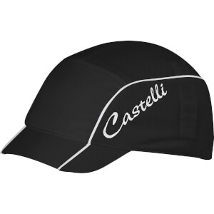 Castelli Women's Summer Cyling Cap - Black/White