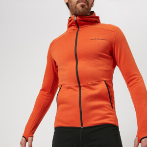Peak Performance Men's Helo Hoody - Orange