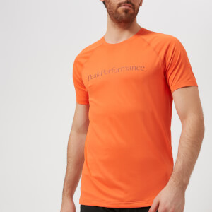 Peak Performance Men's Gallos CO2 Short Sleeve T-Shirt - Orange