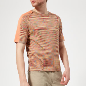 Missoni Men's Raglan Sleeve T-Shirt - Orange