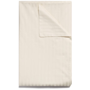 Christy 300TC Sateen Stripe Duvet Cover - Ivory